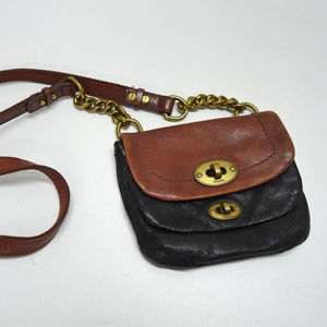 Fossil Long Live Vintage Small Leather Crossbody